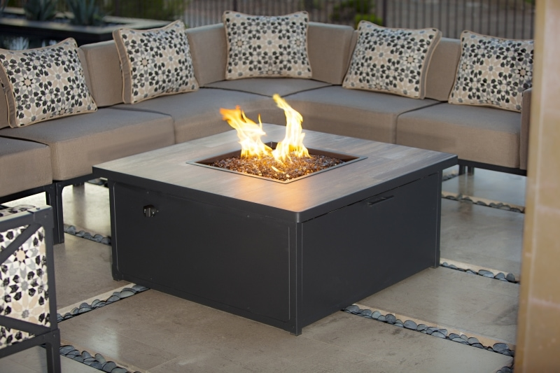 Creighton by OwLee - Fireside Table for Outdoor Patio, House 'N Garden, Tucson, Arizona